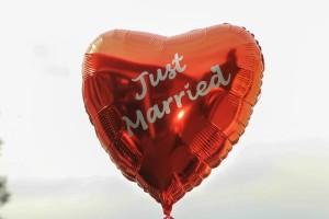 """""""Just Married"""" - Luftballon"""